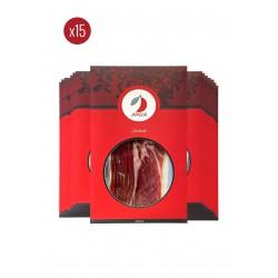 Pack 15 sobres de Jamón de Bellota Ibérico 50% Raza Ibérica